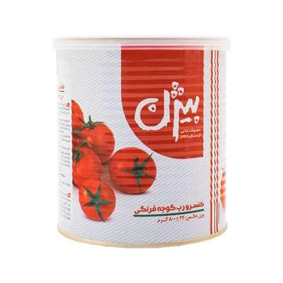 کنسرو رب گوجه فرنگی بیژن با درب آسان باز شو 800 گر