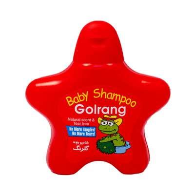 کارتن 4 عددی شامپو بچه گلرنگ مدل ستاره ای قرمز 210