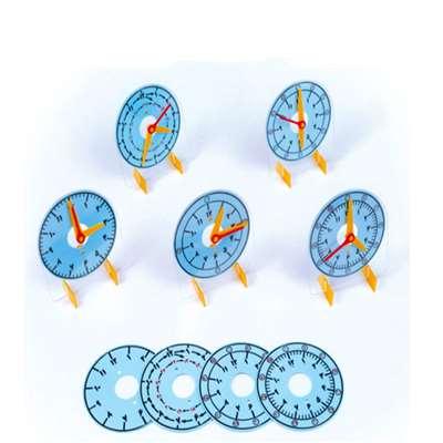 ساعت آموزشی پلاستیکی ثانیه دار