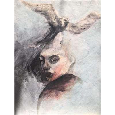 تابلو نقاشی با موضوع ذهن آزاد