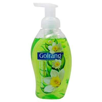 فوم دستشویی گلرنگ سبز 500 گرم
