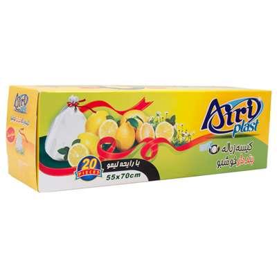 کیسه زباله بنددار خوشبو آیری پلاست با رایحه لیمو 2