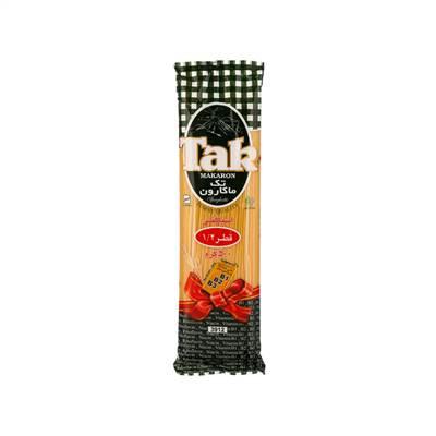 اسپاگتی قطر 1/2  با آرد سمولینا تک ماکارون 500 گرم