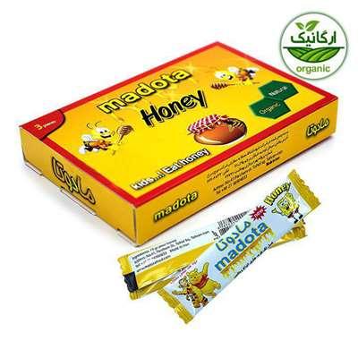 عسل ارگانیک مادوتا بسته های سه تایی