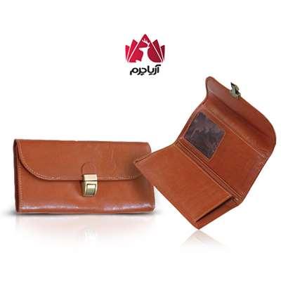 کیف پول کلاسیک قفل دار مدل AM 35-1