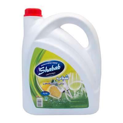 مایع ظرفشویی شباب با رایحه لیمو 3750 گرم