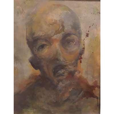 تابلو نقاشی با موضوع سلف پرتره