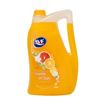 مایع دستشویی اوه صدفی نارنجی مدل میوه ای 3500 گرم