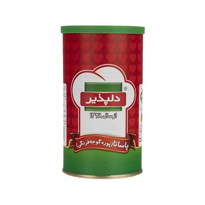 کنسرو پاساتا (پوره گوجه فرنگی) دلپذیر 500 گرم