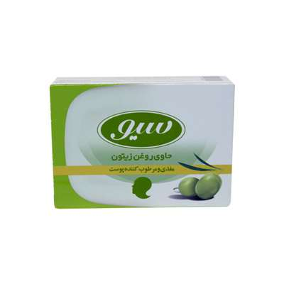 صابون سیو حاوی روغن زیتون مغذی و مرطوب کننده پوست