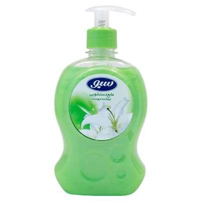 مایع دستشویی سبز سیو نرم کننده پوست 500 میلی لیتر