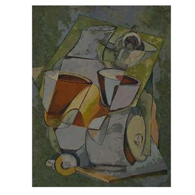 تابلو نقاشی  با موضوع صبحانه