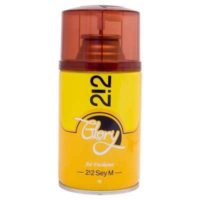 اسپری خوشبو کننده هوا گلوری با رایحه 212 زرد 250 م
