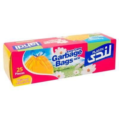 کیسه زباله آسان گره لندی پلاستیک 50*60 کوچک 25 عدد